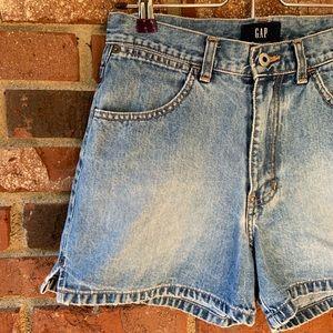 •Vintage• GAP High Waisted Shorts